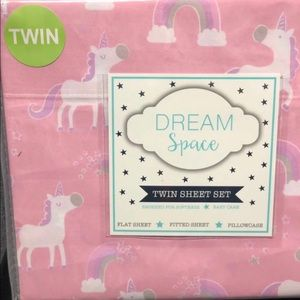 Other - Unicorn Twin Sheet Set